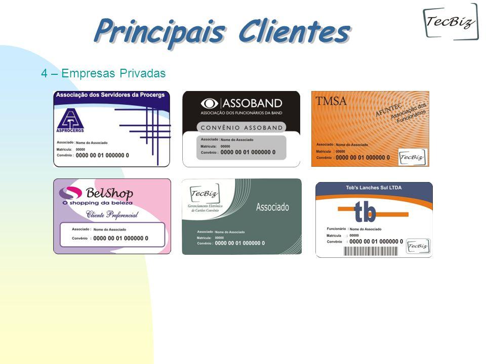 4 – Empresas Privadas