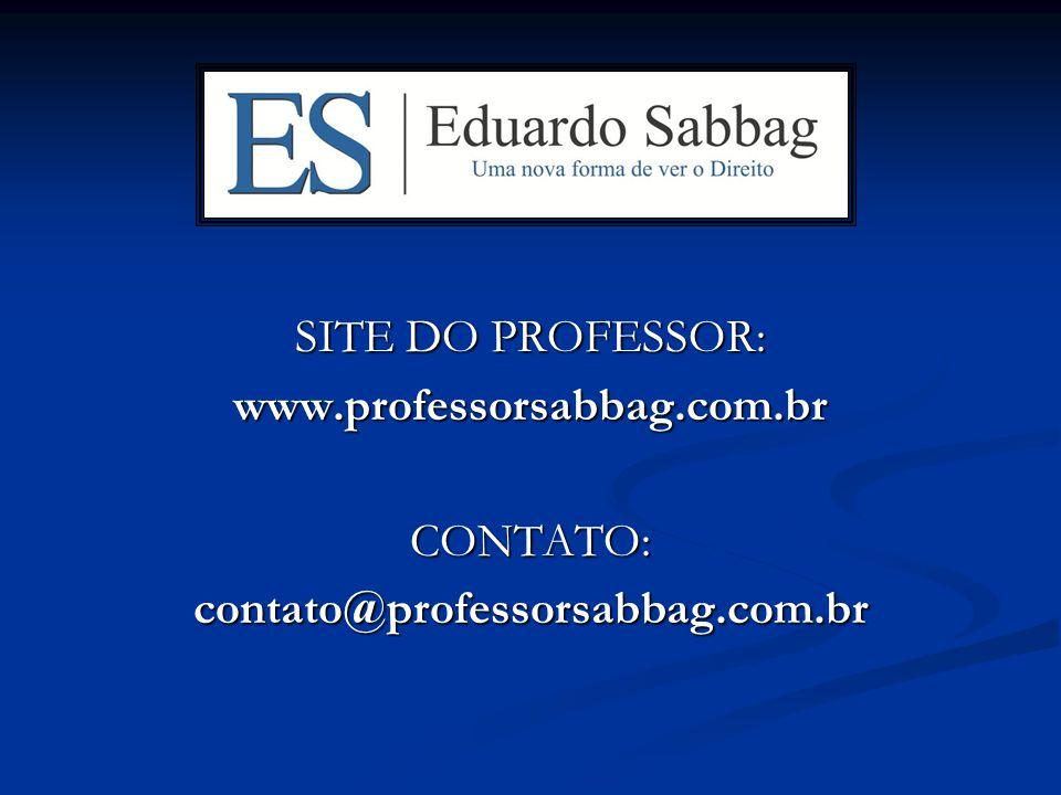 SITE DO PROFESSOR: www.professorsabbag.com.brCONTATO:contato@professorsabbag.com.br