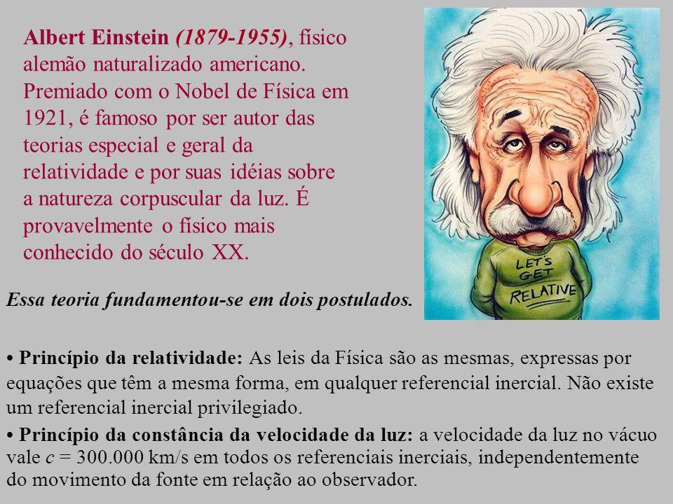 Albert Einstein (1879-1955), físico alemão naturalizado americano.