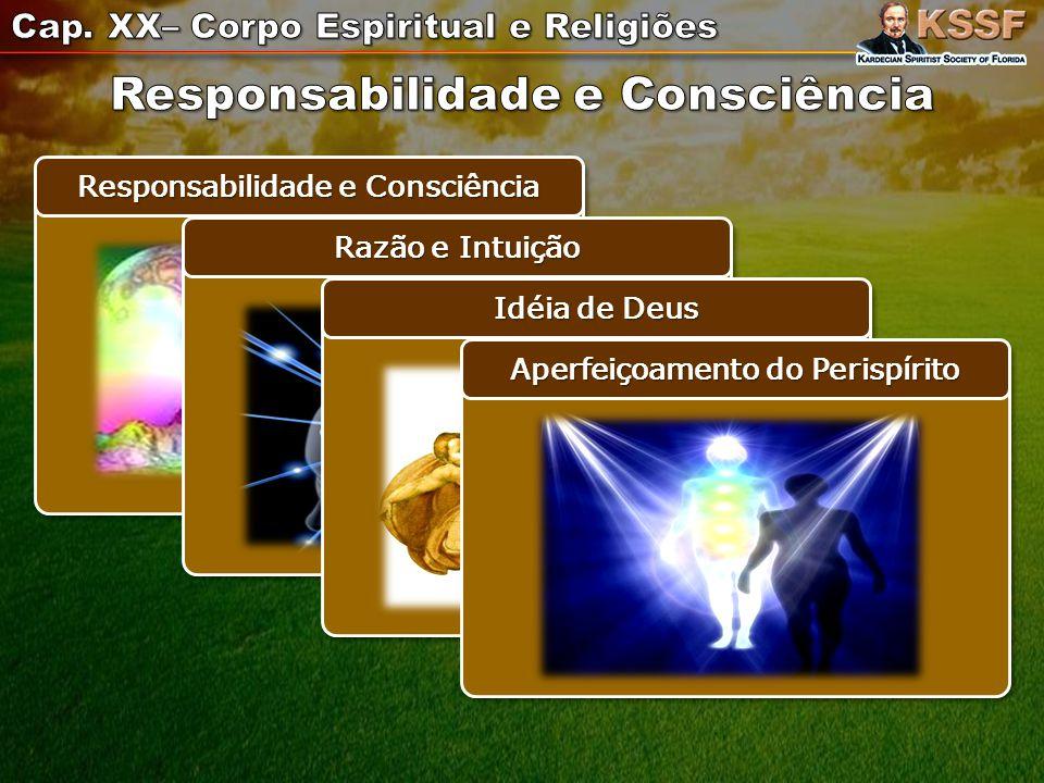 Responsabilidade e Consciência Razão e Intuição Idéia de Deus Aperfeiçoamento do Perispírito