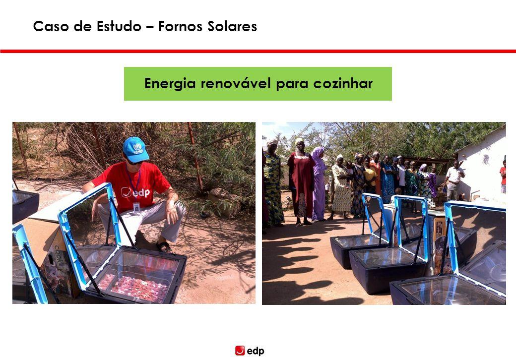 Caso de Estudo – Fornos Solares Energia renovável para cozinhar