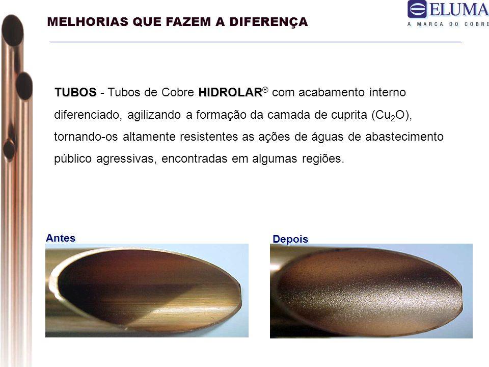 Pasta para Soldagem em tubulação de cobre : Exclusividade da Eluma tem a característica de ser removível por água corrente, mesmo quando aplicado em excesso.