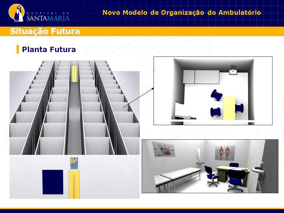 Novo Modelo de Organização do Ambulatório Planta Futura Situação Futura