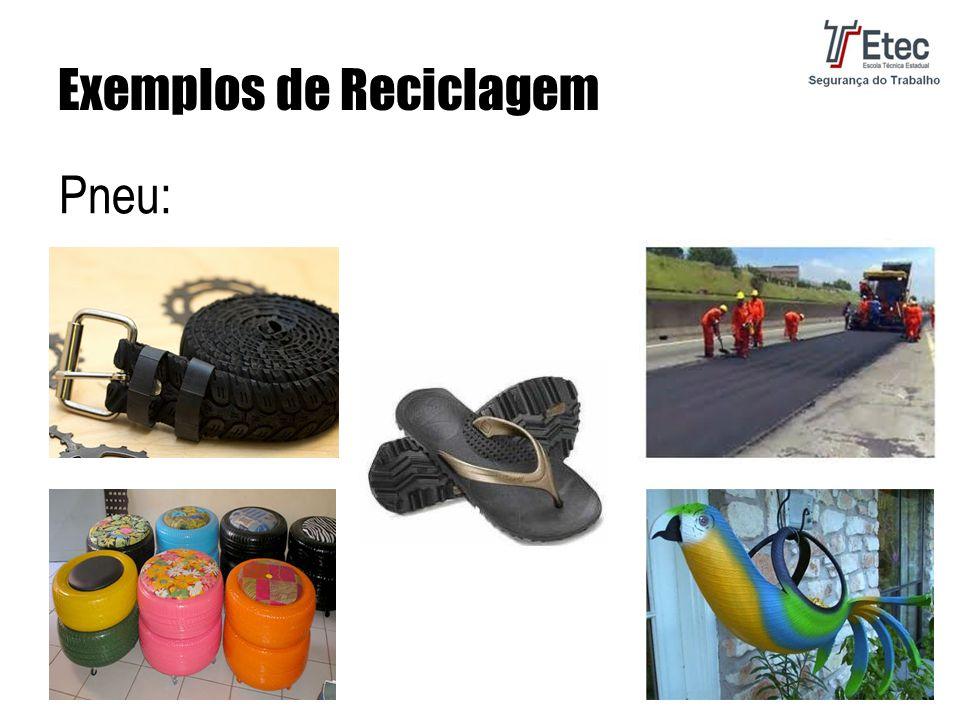 Exemplos de Reciclagem Pneu: