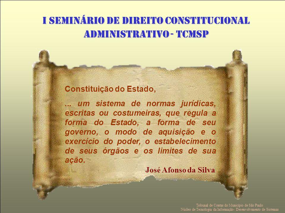 Constituição do Estado,...