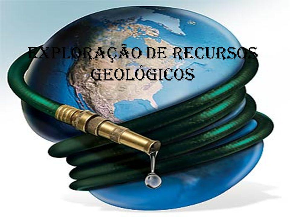Exploração de recursos geológicos