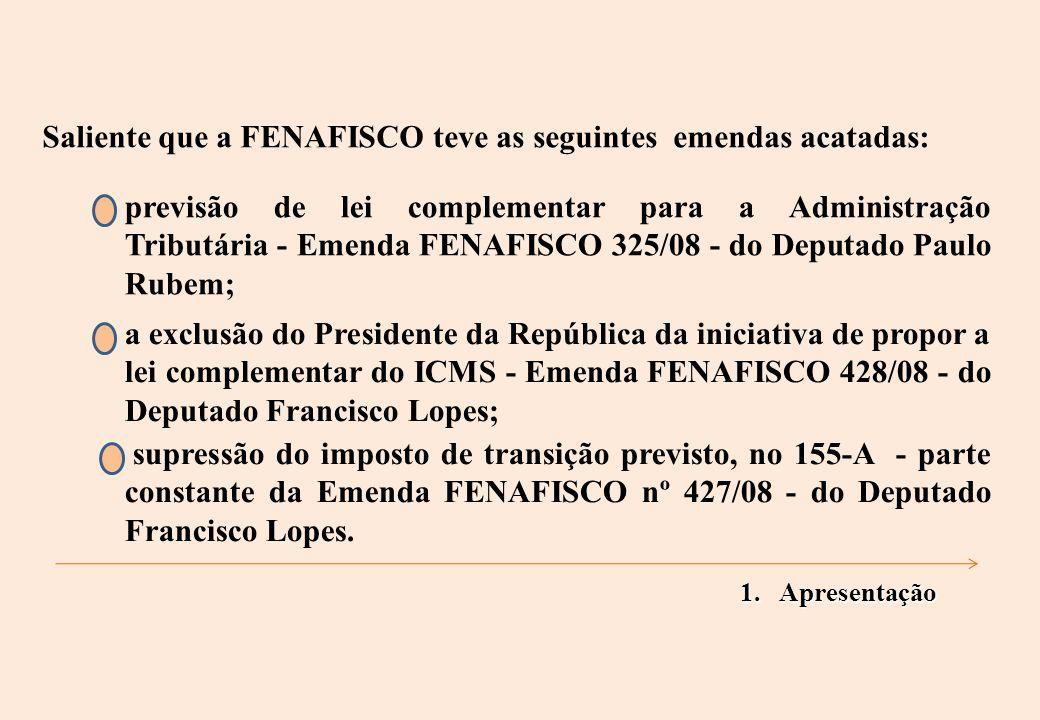 5. Outras Alterações na Constituição