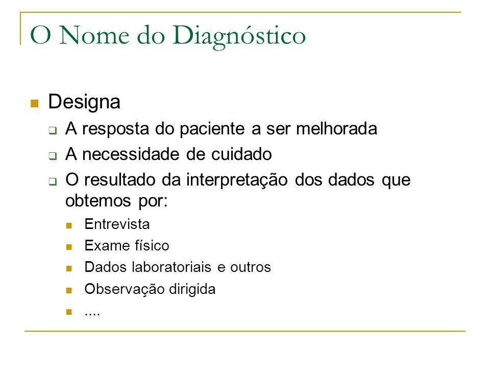 Como formular diagnósticos de enfermagem? Algumas sugestões para começar....
