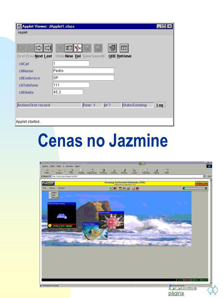 Ir p/ primeira página Edição de Cena no Jazmine
