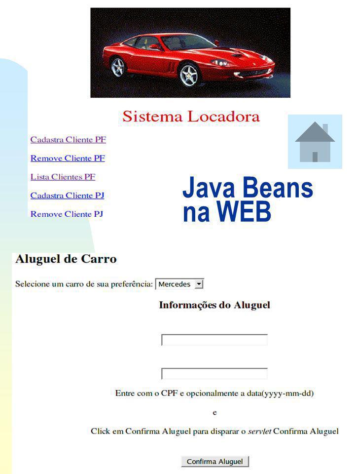 Ir p/ primeira página Java Beans em Aplicações