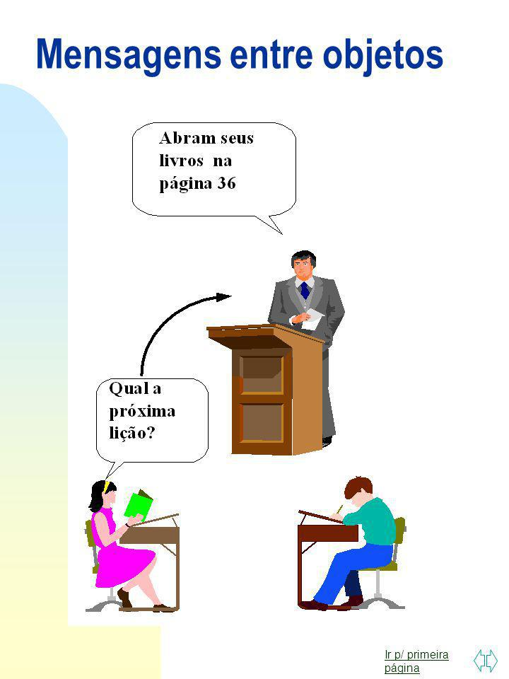 Ir p/ primeira página Quando será que você vai aprender minha linguagem ? Conexão de Mensagem