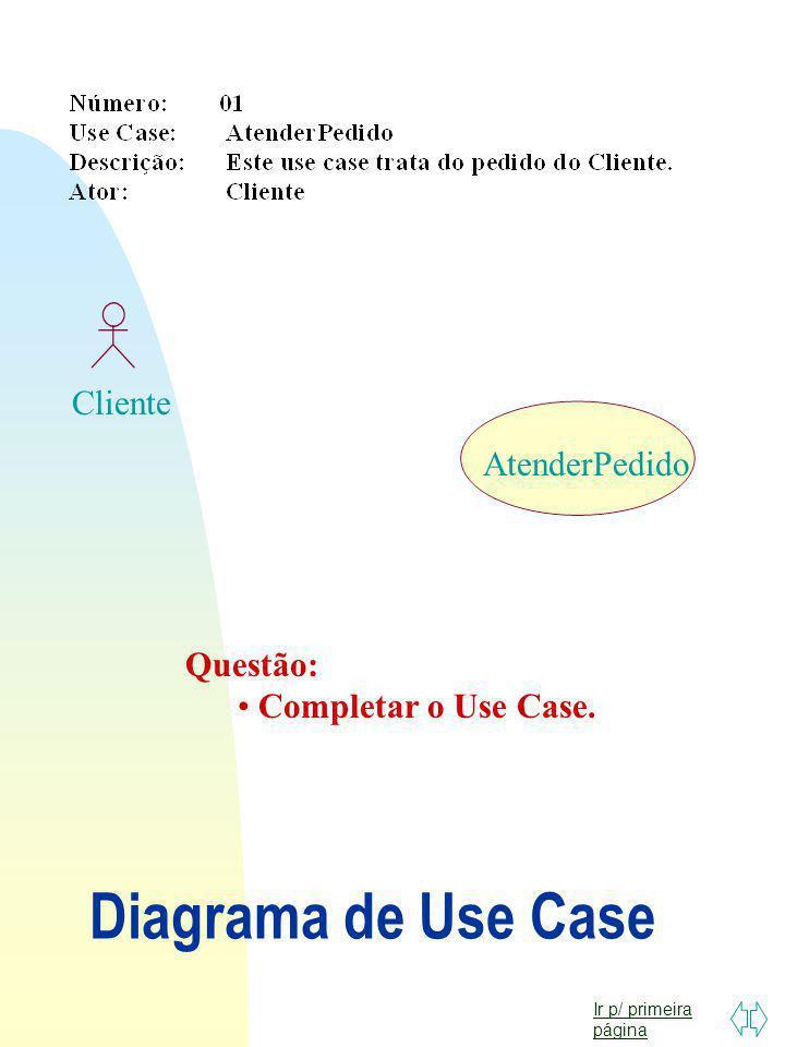 Ir p/ primeira página Exercício 06