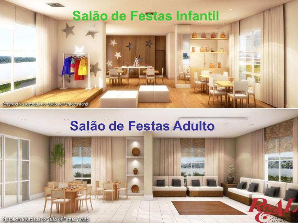 Salão de Festas Infantil Salão de Festas Adulto
