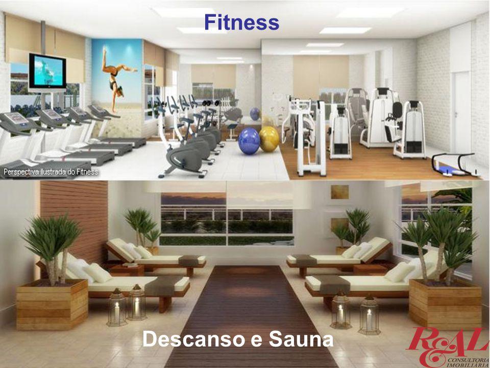 Fitness Descanso e Sauna