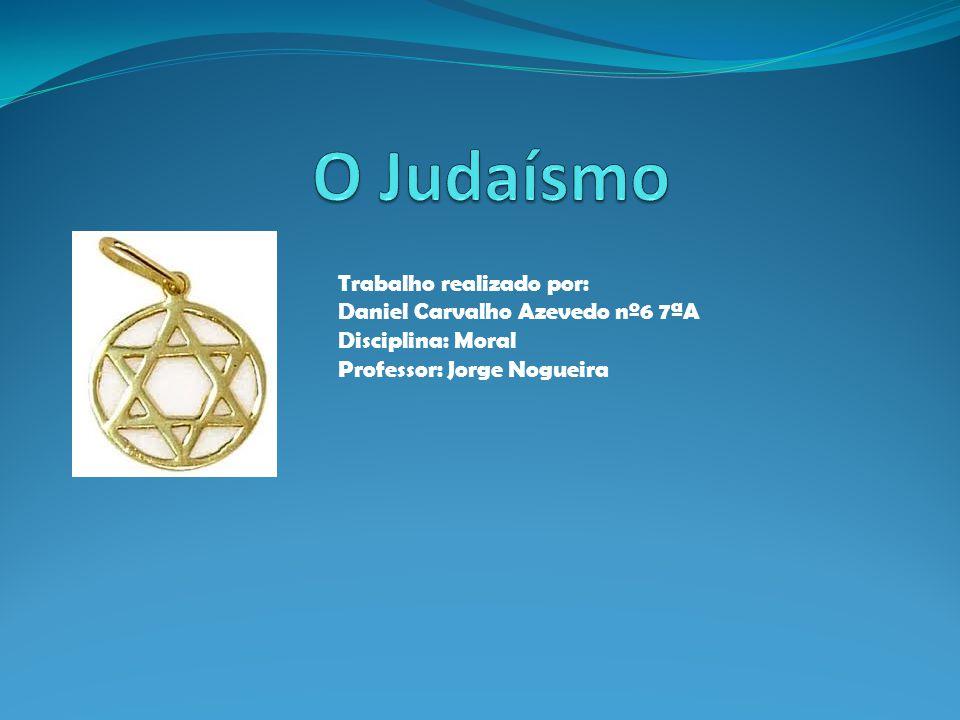 Trabalho realizado por: Daniel Carvalho Azevedo nº6 7ªA Disciplina: Moral Professor: Jorge Nogueira