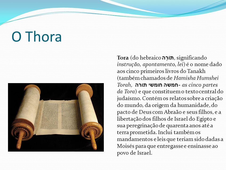 O Thora Tora (do hebraico תּוֹרָה, significando instrução, apontamento, lei) é o nome dado aos cinco primeiros livros do Tanakh (também chamados de Ha