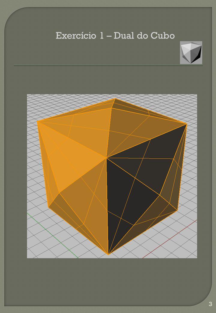 Exercício 1 – Dual do Cubo 3