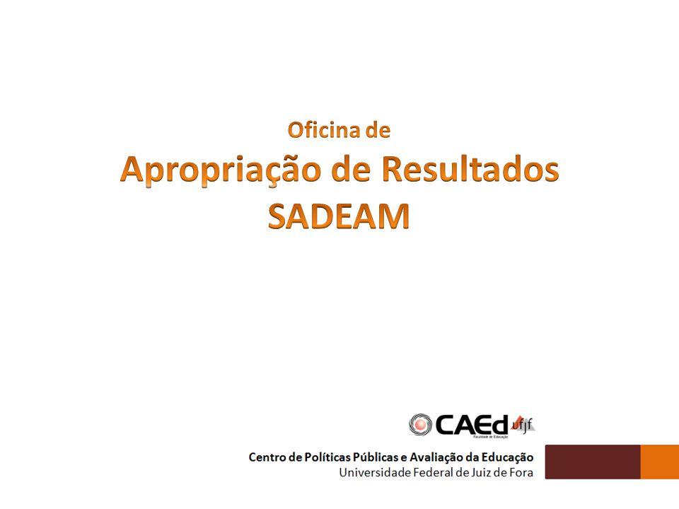 PADRÕES DE DESEMPENHO ESTUDANTIL ESTABELECIMENTO E MONITORAMENTO DAS METAS DE QUALIDADE EDUCACIONAL CARACTERIZAÇÃO DO DESEMPENHO ESCOLAR GRAU DE REALIZAÇÃO DAS AÇÕES EDUCACIONAIS POLÍTICAS PÚBLICAS VOLTADAS À PROMOÇÃO DA EQUIDADE IDENTIFICAÇÃO DO PERCENTUAL DE ESTUDANTES EM RISCO PEDAGÓGICO (EVASÃO, REPROVAÇÃO OU ABANDONO) Os Padrões de Desempenho são categorias definidas a partir de cortes numéricos que agrupam os níveis da Escala de Proficiência, com base nas metas educacionais estabelecidas pelo SADEAM.