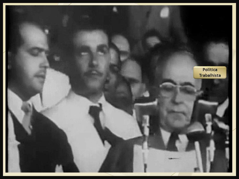 A Presidência de Vargas (1951 – 1954) Política Trabalhista Quadro econômico financeiro A Divisão dentro do Exército Oposição implacável Tensões políti