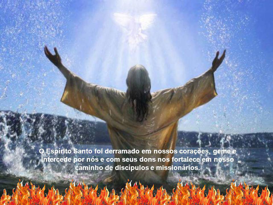 Espírito Santo, que unis o Pai e o Filho em bem-aventurança eterna, ensinai-me a viver a cada instante e em todos os acontecimentos, na intimidade com meu Deus, sempre mais consumado na unidade da Trindade.
