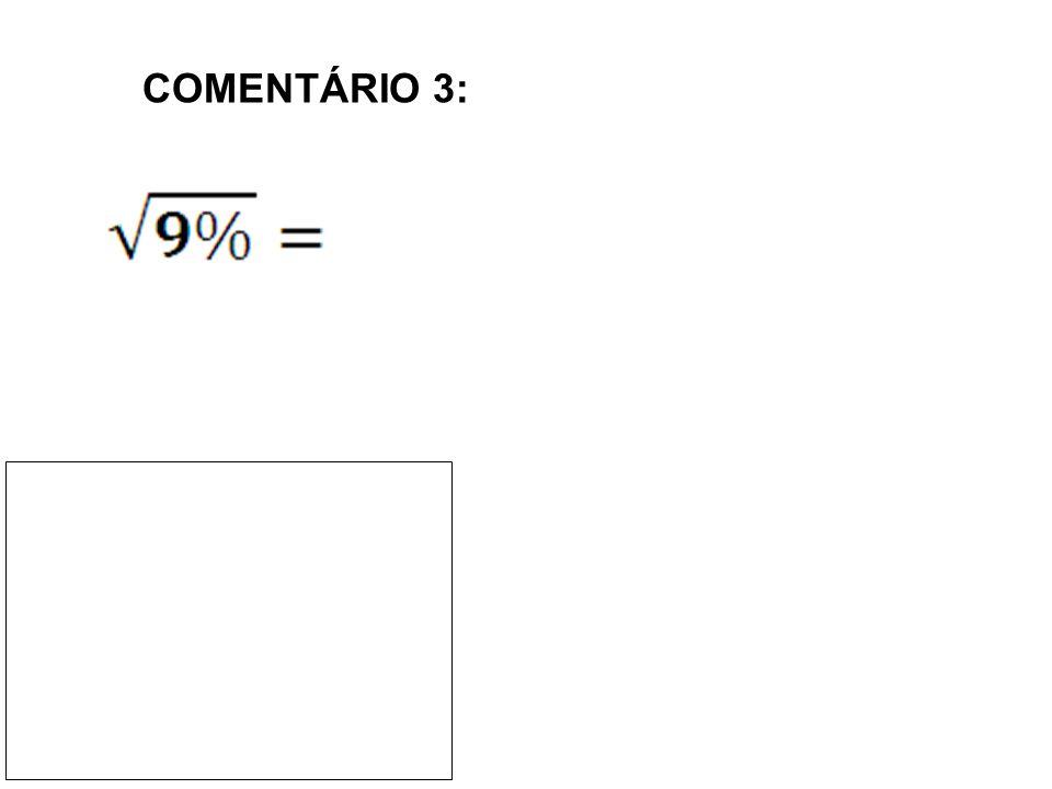 COMENTÁRIO 3: