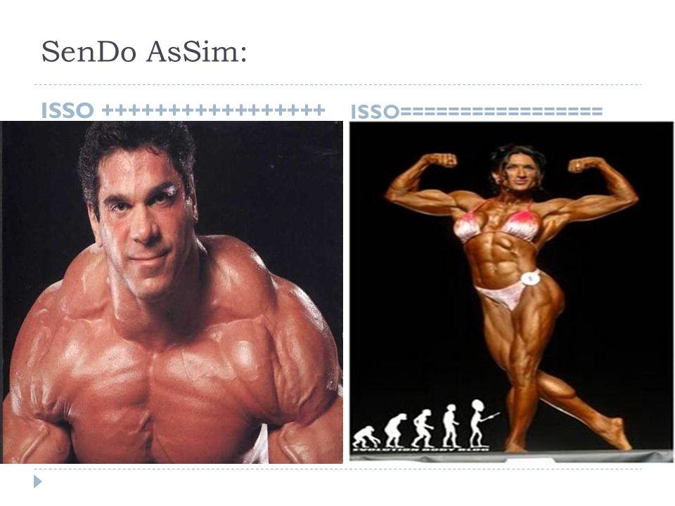 SenDo AsSim: ISSO +++++++++++++++++ ISSO=================