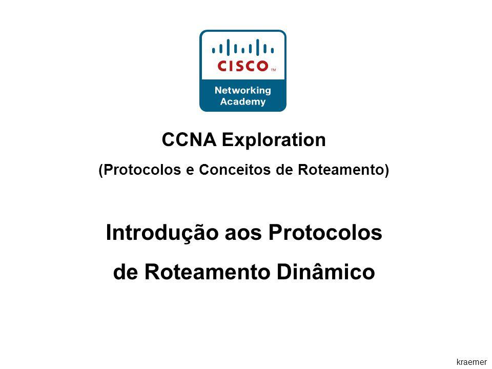 kraemer CCNA Exploration (Protocolos e Conceitos de Roteamento) Introdução aos Protocolos de Roteamento Dinâmico