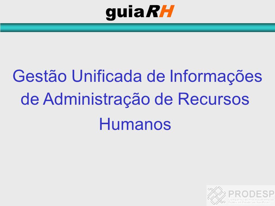 Gestão Unificada de Informações de Administração de Recursos Humanos guiaRH