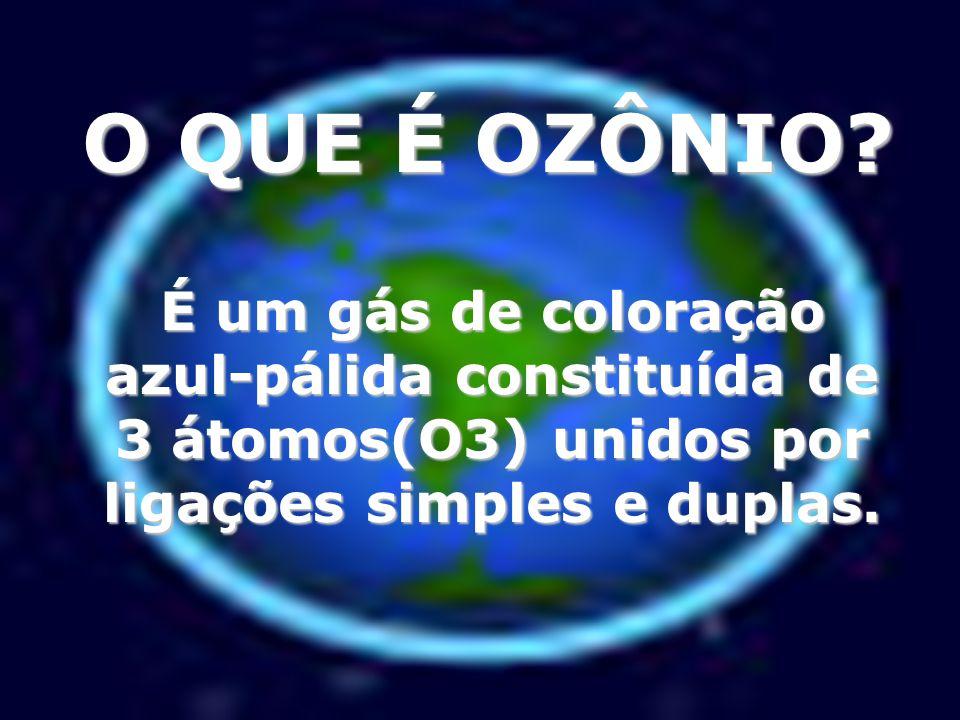 A palavra ozônio vem do grego: eu cheiro, a qual é muito apropriada, por ele possuir cheiro característico e refrescante que nos lembra o cheiro do ar limpo após uma chuva com descargas elétricas.