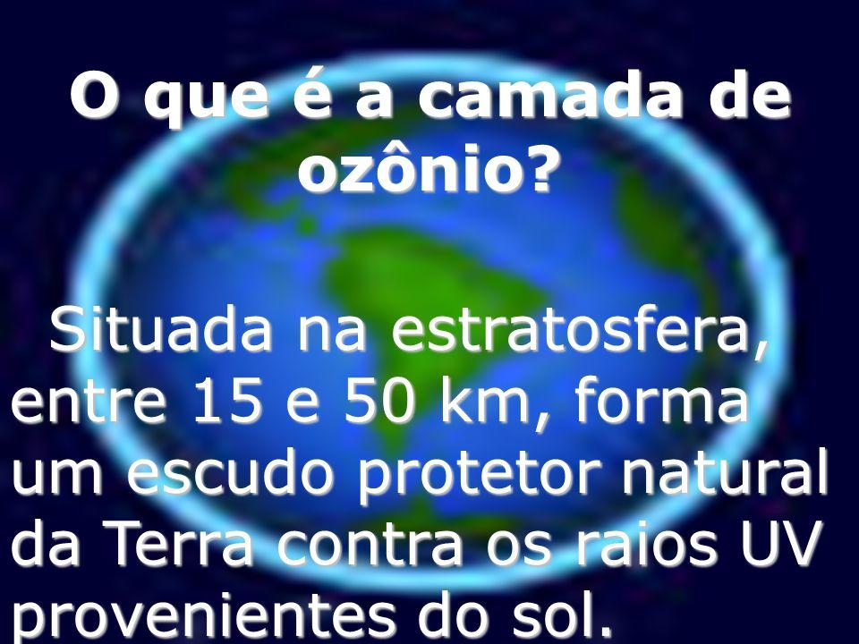 Como é produzido o ozônio? 1 °1 ° passo: Ocorre a dissociação através do hv da molécula de O2.O2.O2.O2. O 2 +hv O 2 +hv O+O 2° passo: Ocorre a associa