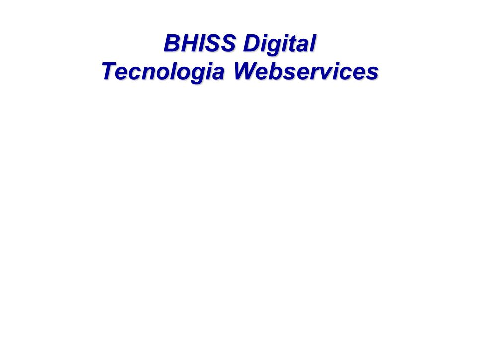 BHISS Digital Tecnologia Webservices