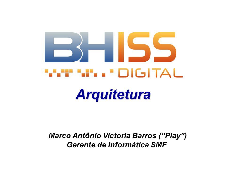 Arquitetura Marco Antônio Victoria Barros (Play) Gerente de Informática SMF