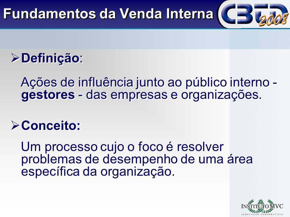 Definição: Ações de influência junto ao público interno - gestores - das empresas e organizações.