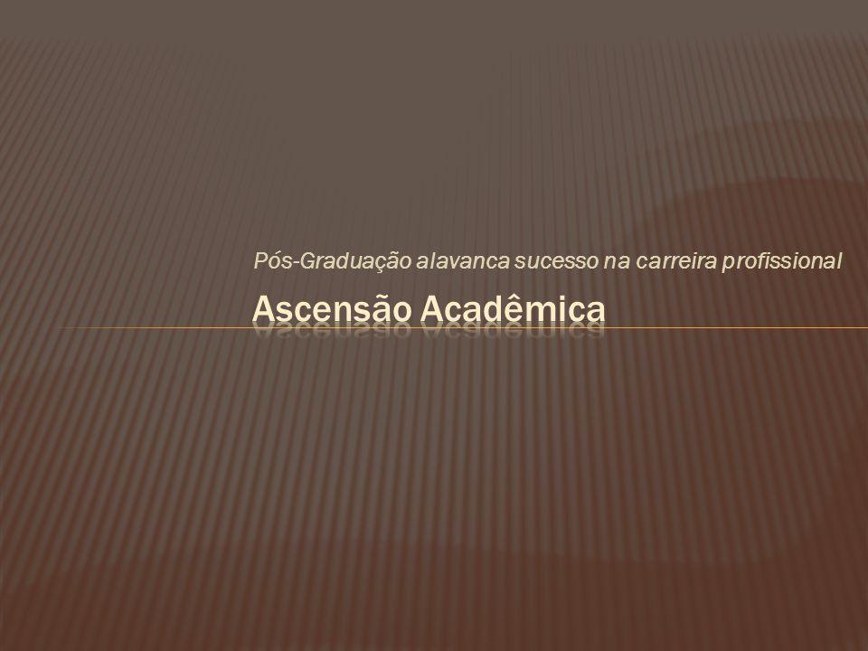 Pós-Graduação alavanca sucesso na carreira profissional