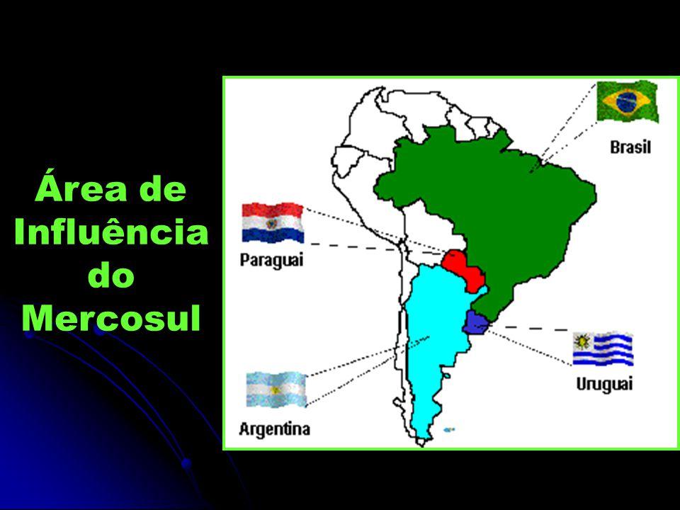 Área de Influência do Mercosul
