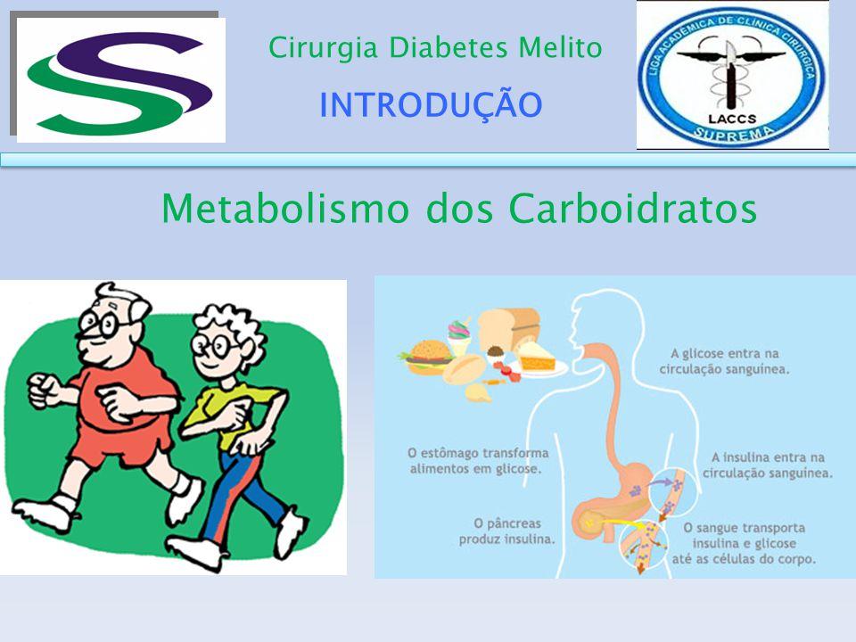 DESENVOLVIMENTO Cirurgia Diabetes Melito Rearranjo da anatomia do intestino proximal leva a um efeito benéfico na ingestão alimentar e na homeostase da glicose envolvendo a neoglicogênese intestinal, independente dos níveis de GLP1 ou alteração no peso.