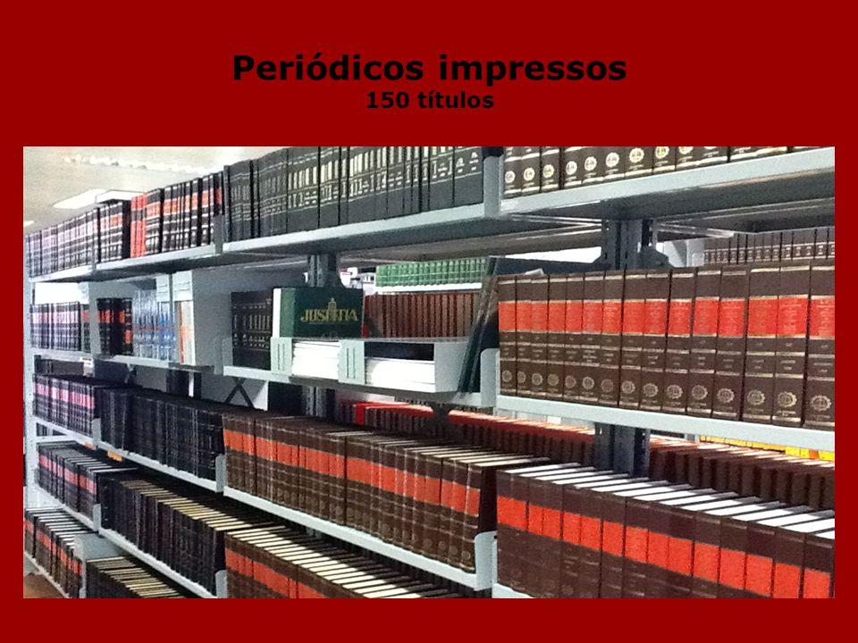 Periódicos impressos 150 títulos