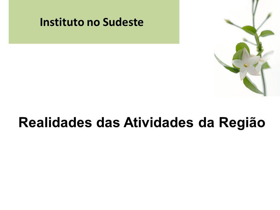 Instituto no Sudeste Realidades das Atividades da Região