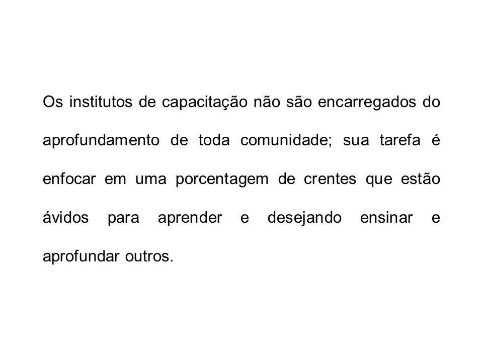 Os quatro componentes do Processo do Instituto