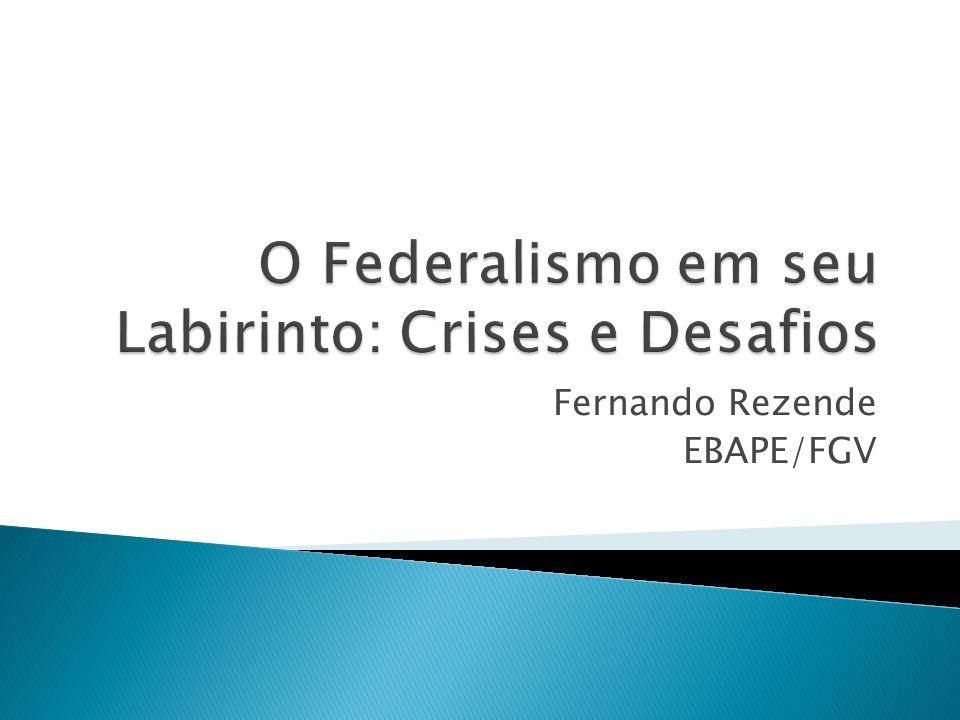 Fernando Rezende EBAPE/FGV