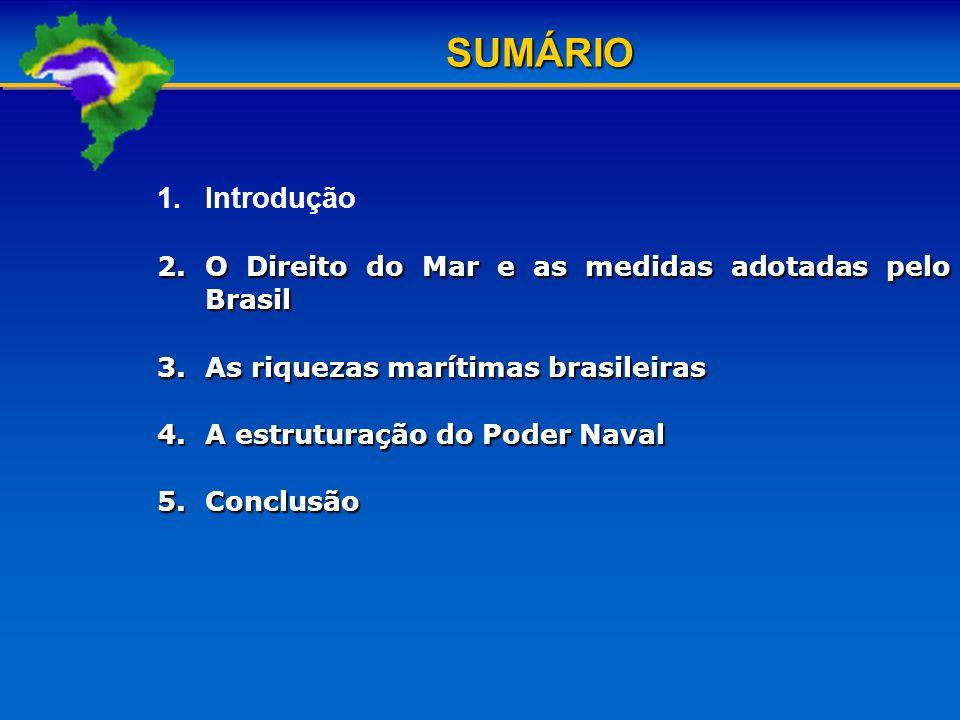 As riquezas marítimas brasileiras Assinaturas em fevereiro de 2009 de dois Termos de Cooperação com a Petrobras, por intermédio do Centro de Pesquisas da Petróleo Brasileiro AS (CENPES/PETROBRAS) com a interveniencia da FEMaval da ANP e do Programa de Desenvolvimento da Industria Nacional do Petróleo e Gás Natural (PROMINP).