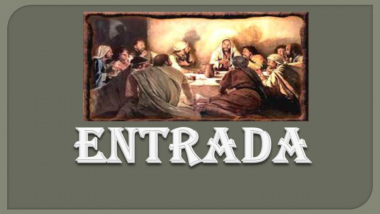 COMUNHÃO Felizes os convidados para a Ceia do Senhor.
