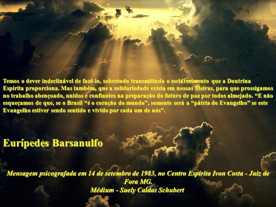 Temos o dever indeclinável de fazê-lo, sobretudo transmitindo o esclarecimento que a Doutrina Espírita proporciona.