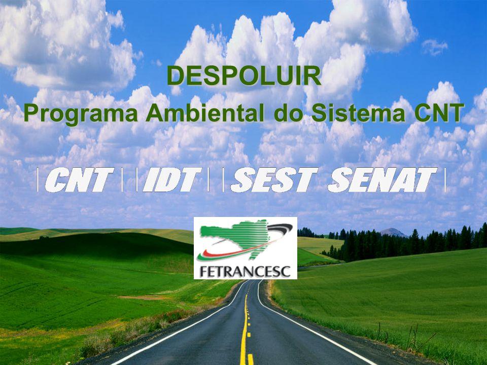 Programa DESPOLUIR DESPOLUIR Programa Ambiental do Sistema CNT