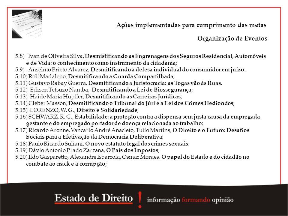 5.8) Ivan de Oliveira Silva, Desmistificando as Engrenagens dos Seguros Residencial, Automóveis e de Vida: o conhecimento como instrumento da cidadani