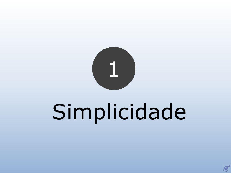 1 Simplicidade