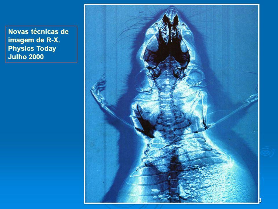 48 Novas técnicas de imagem de R-X. Physics Today Julho 2000 dispoptic 2013