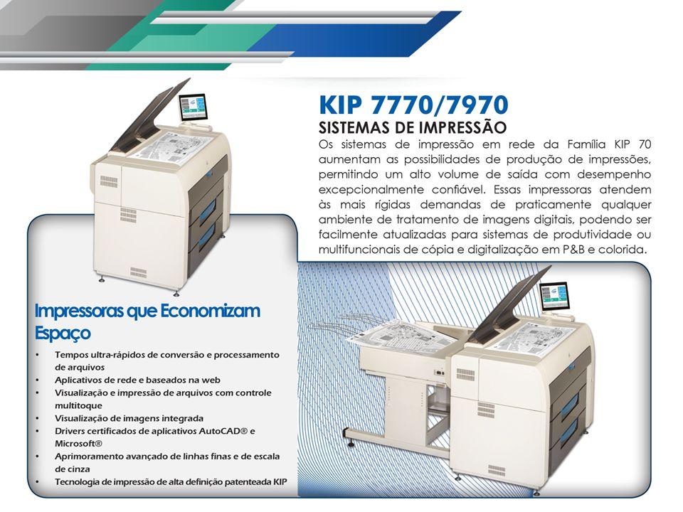 Produtividade da Série KIP 70