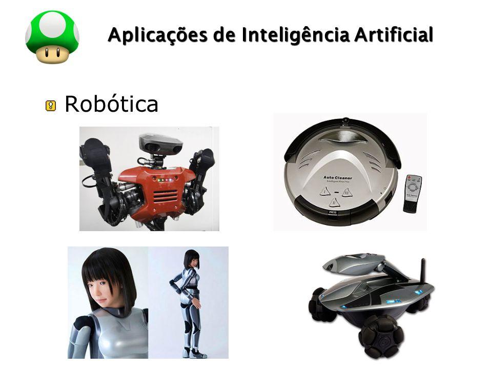 LOGO Aplicações de Inteligência Artificial Robótica