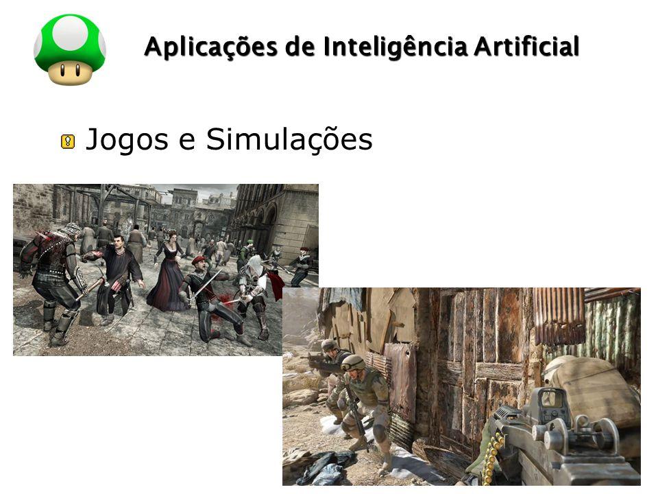 LOGO Aplicações de Inteligência Artificial Jogos e Simulações